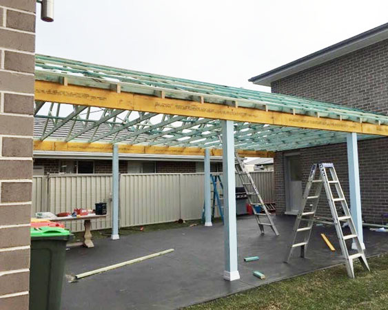 frontier roof installation canberra